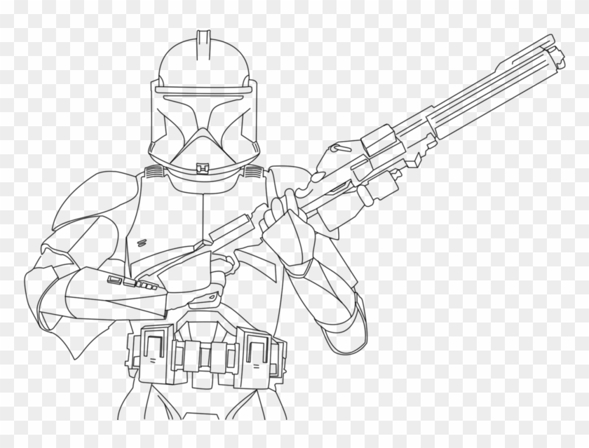 Printable Pictures Of Clone Trooper Page Printable Coloring Star Wars Coloring Page Clone Trooper Hd Png Download 800x586 201321 Pngfind