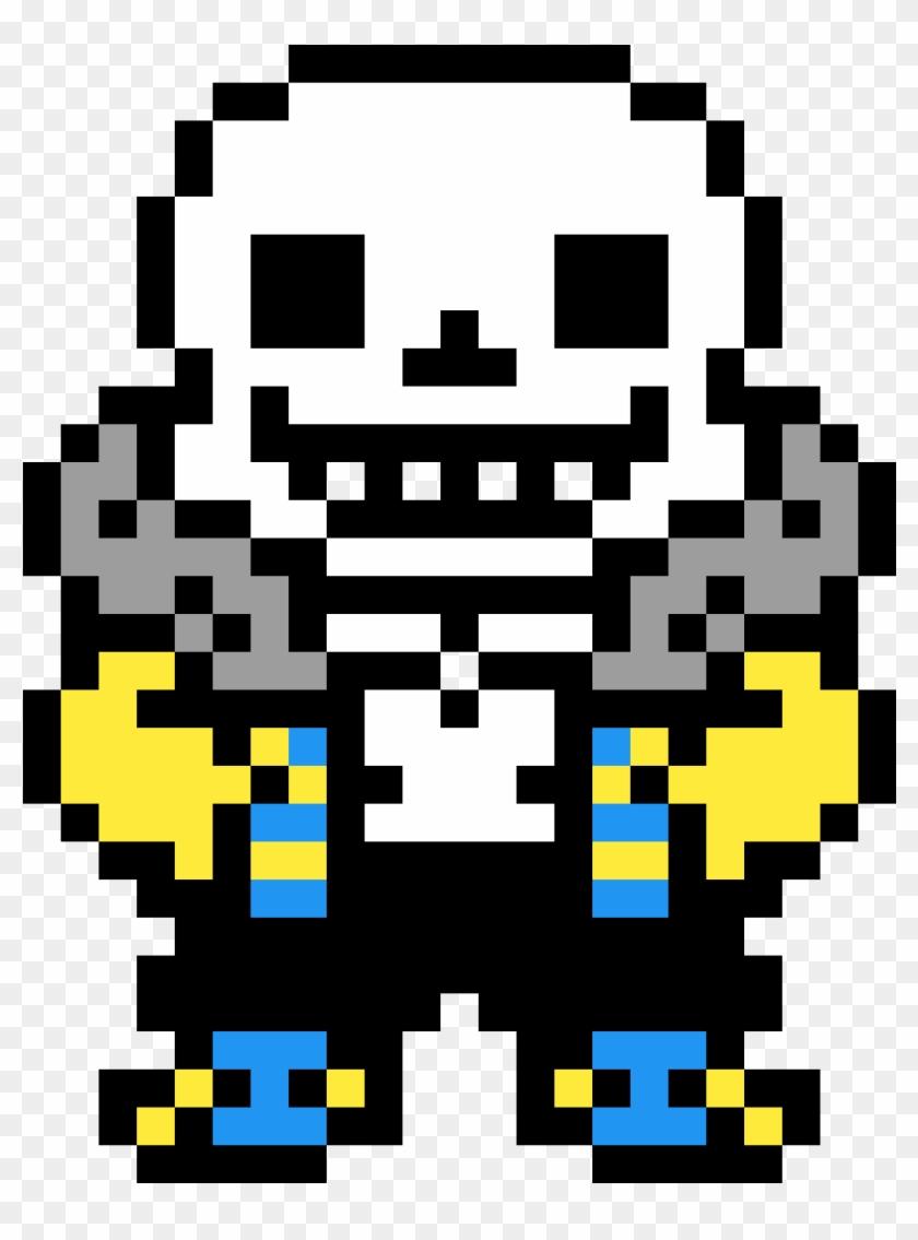Outertale Sans Sprite - Outertale Sans Pixel Art, HD Png