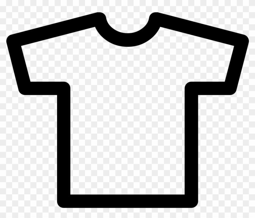 T-shirt Outline Comments - Black Shirt Outline Png