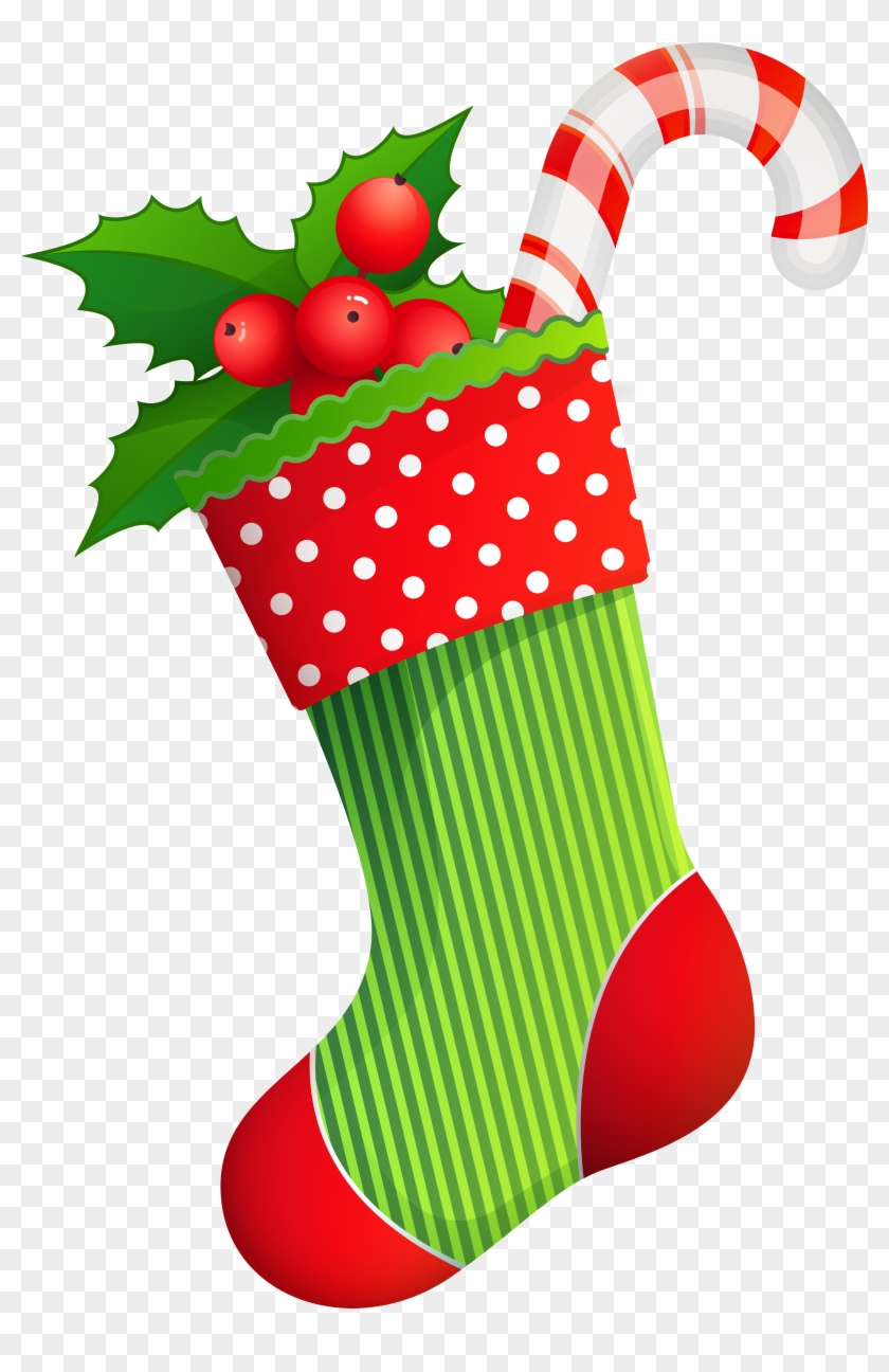 Christmas Holiday Stocking Transparent Png Clip Art