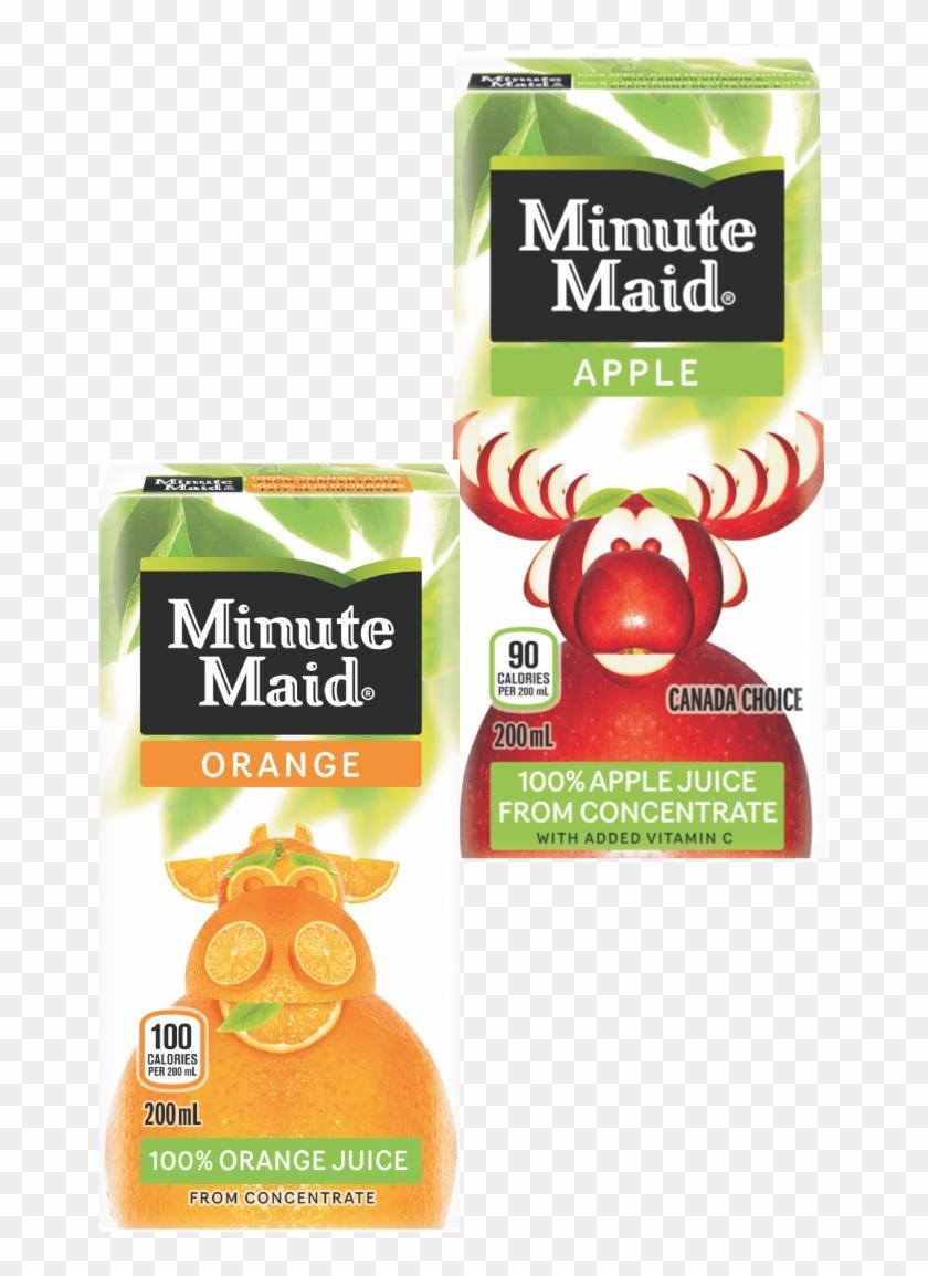 Juice-boxes - Minute Maid Apple Juice 1