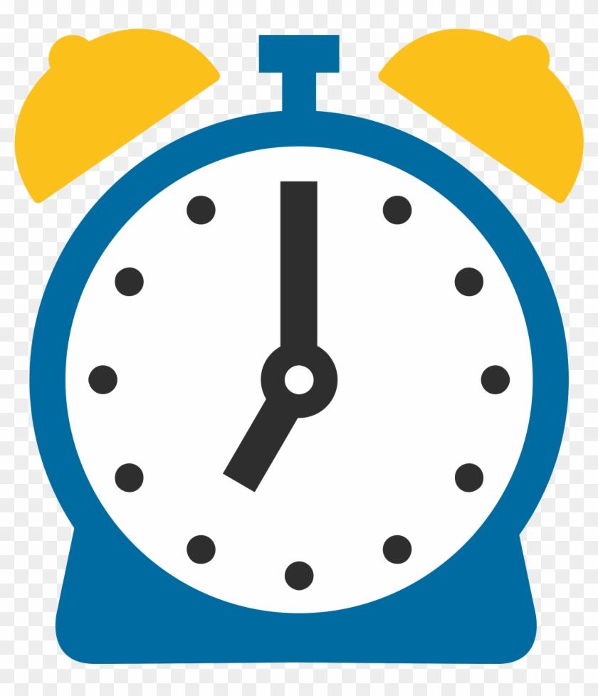 Clipart Clock Emoji Photo - Time Icon 1 O Clock, HD Png