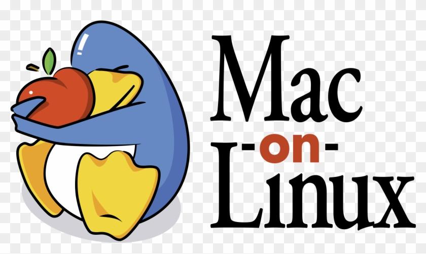 Mac On Linux Logo Png Transparent - Linux Vs Mac, Png