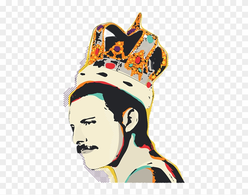 Bleed Area May Not Be Visible Pop Art Freddie Mercury Hd Png Download 495x700 2017403 Pngfind