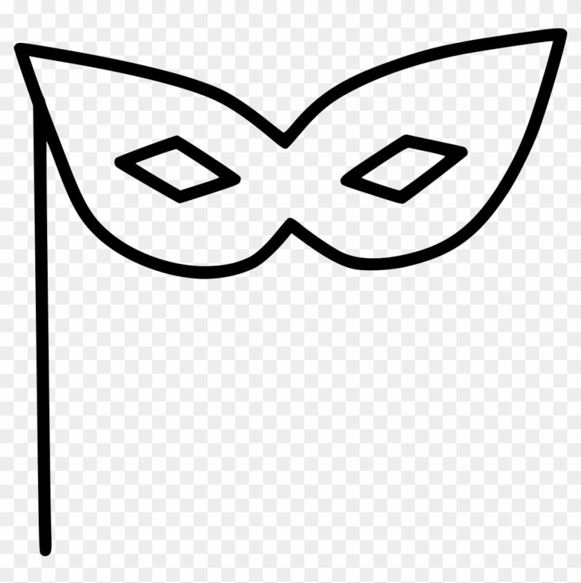 Mask Party Art Svg Desenhos De Mascaras Para Colorir Hd Png
