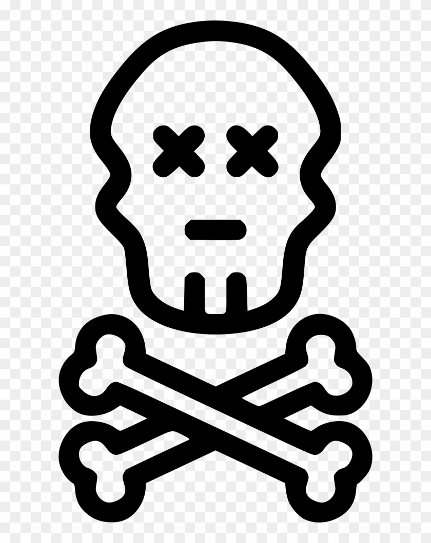 Bones Ghost Caution Svg Png Icon Free Ghost Bones Transparent Png 612x980 2024325 Pngfind