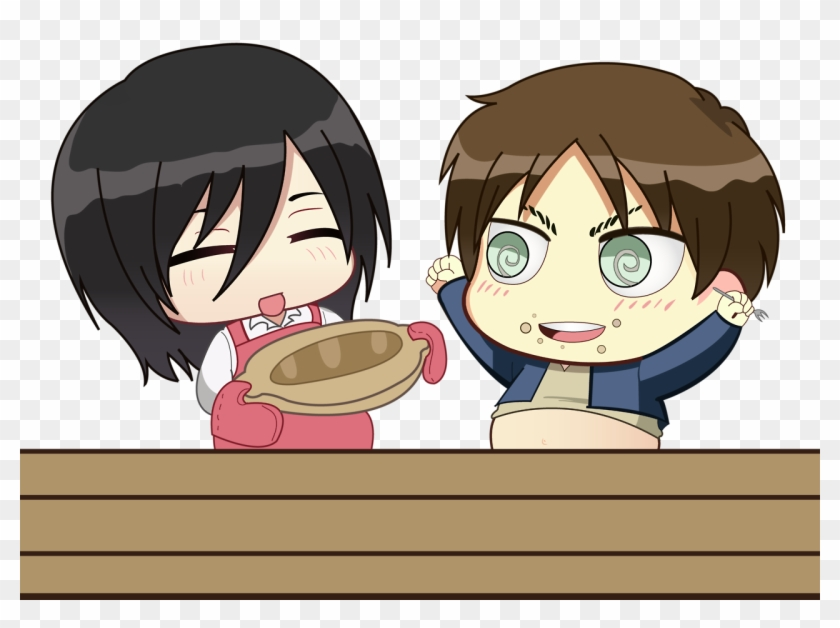 In My Headcanon, Mikasa Knows How To Make All Of Eren's