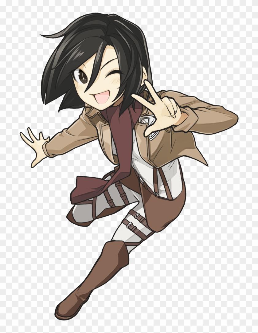 Danbooru Mikasa Ackerman Hd Png Download 900x1060 2043850 Pngfind