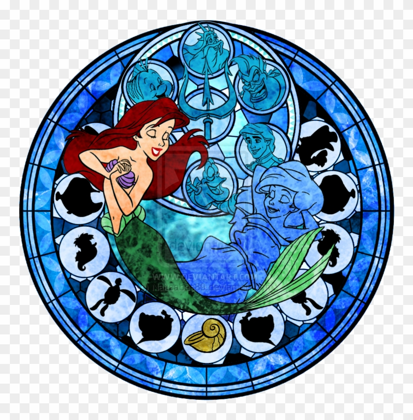 images ariel stained glass hd wallpaper