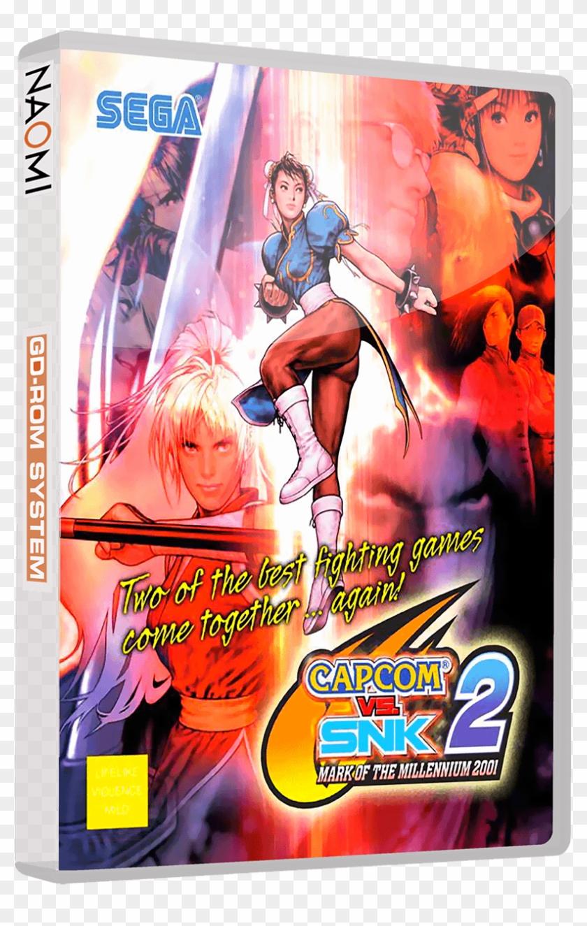 Sega Naomi 3d Boxes With Discs (gd-rom Set) - Capcom Vs Snk 2, HD