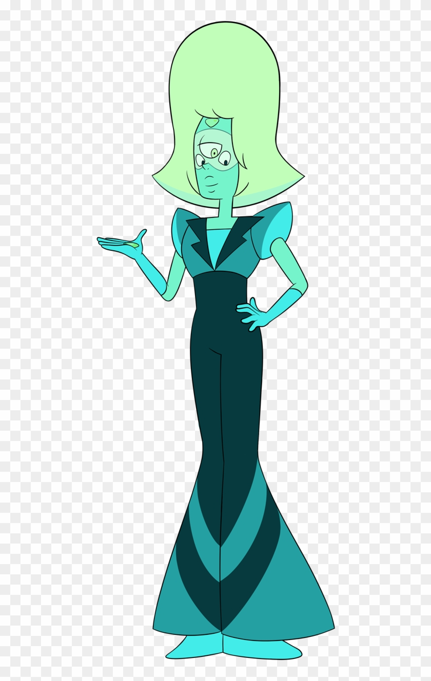 Serpentine, A Fusion Between Sapphire And Peridot - Cartoon