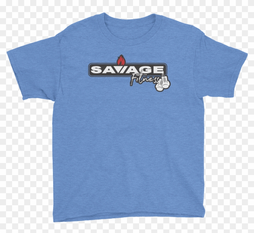 3dda40f4f7f1 Savage Fit Box Horz Logo Mockup Front Flat Heather - Hillbilly T Shirt, HD  Png