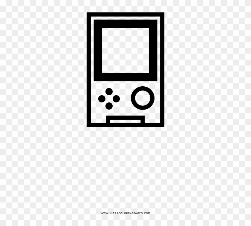 Gameboy Coloring Page Game Boy Disegni Da Colorare Mp3 Hd