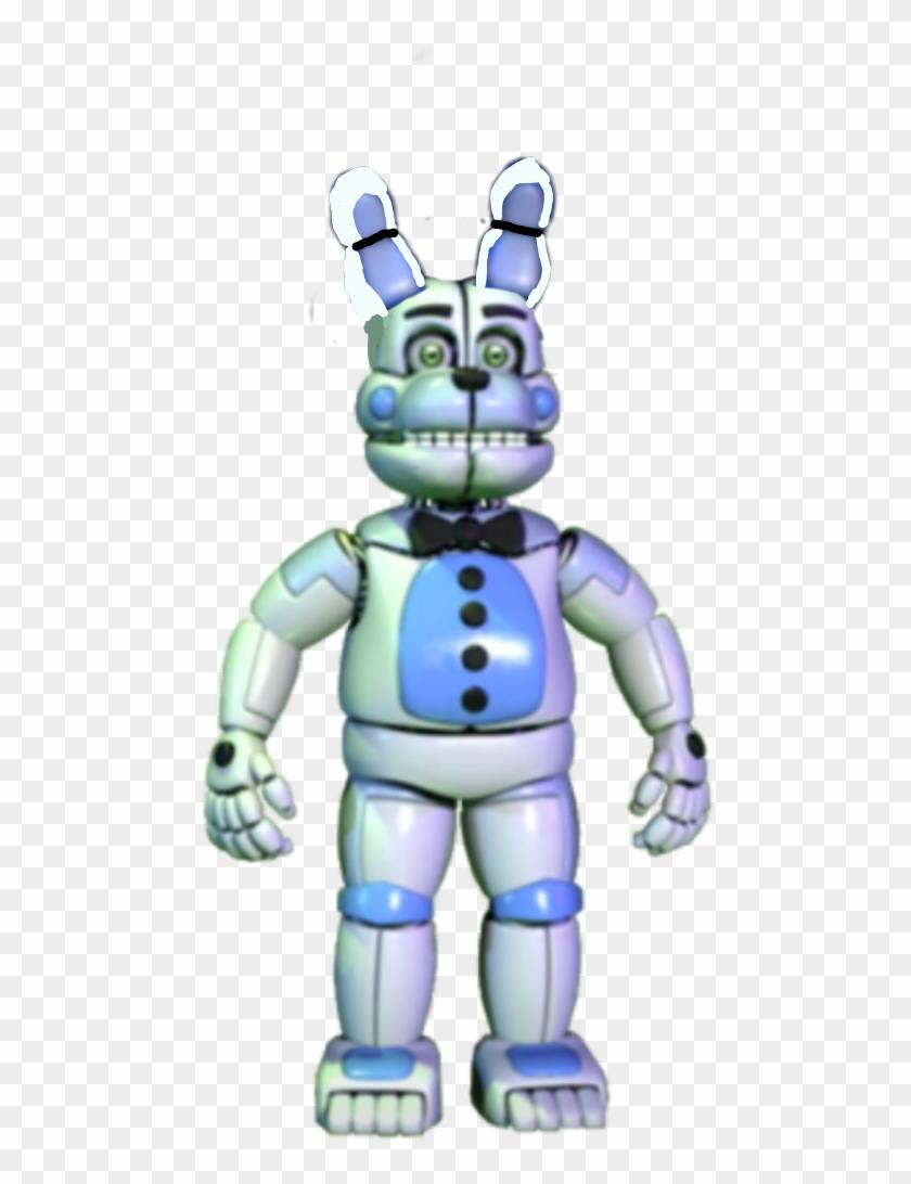 fnaf8 Funtime Bonnie - Fnaf Fixed Molten Freddy, HD Png