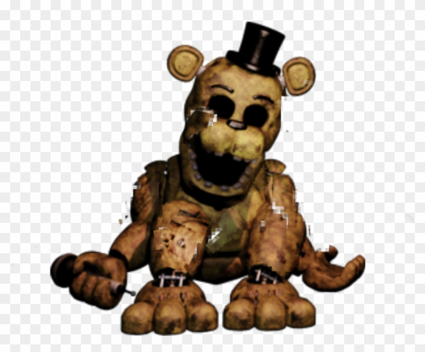 Unwithered Golden Freddy Unwithereds, HD Png Download