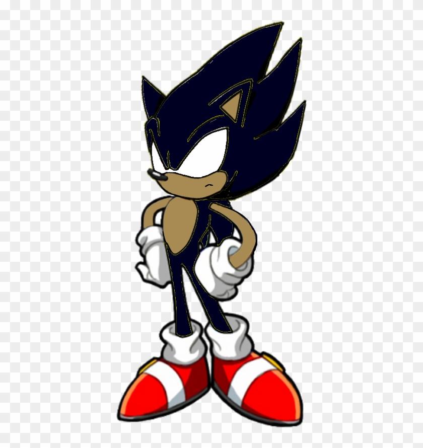 Dark Sonic Png Dark Super Sonic X Transparent Png 487x835 2064169 Pngfind
