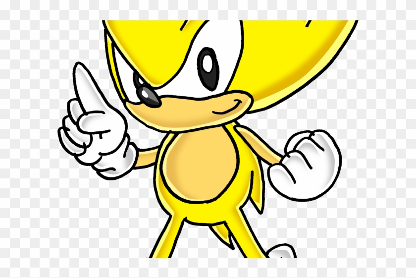 Sonic The Hedgehog Clipart Super Sonic Sonic The Hedgehog Yellow Character Hd Png Download 640x480 2064551 Pngfind