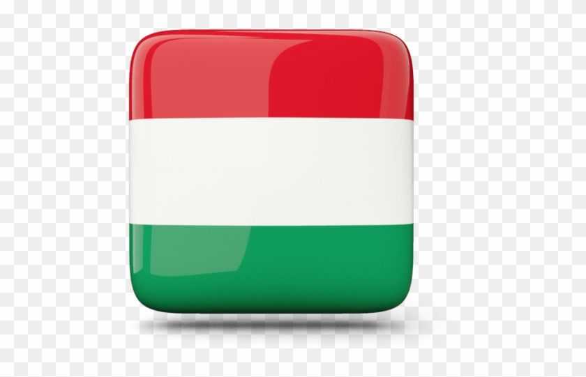 Flag Icon Png Download - Hungary Flag Square, Transparent Png