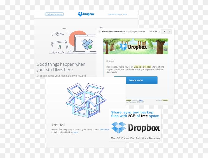 Dropbox Marketing - Dropbox, HD Png Download - 660x660