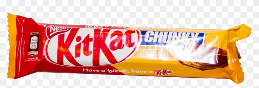Nestle Kit Kat Chocolate Chunky Caramel - Kit Kat, HD Png Download