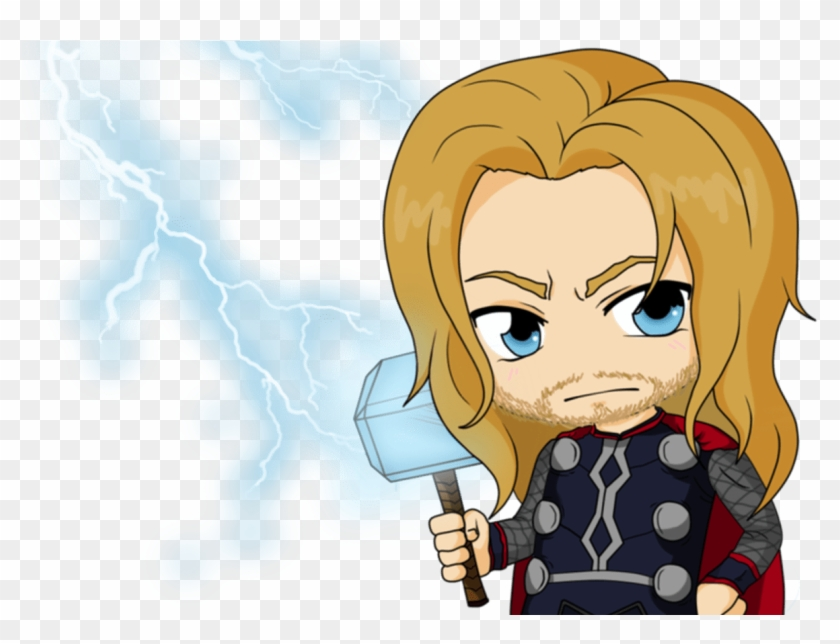 Cute Thor Drawing Thor Drawing Cute Thor Cartoon Hd Png Download