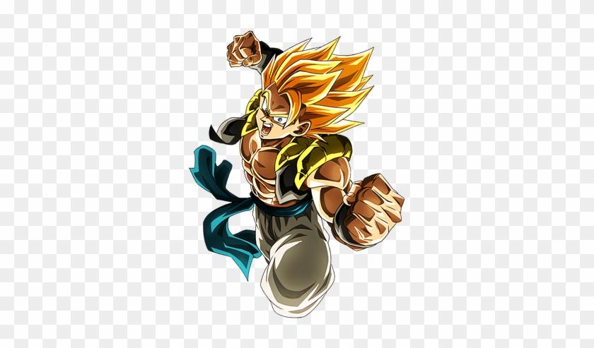 Dragon Ball Super Broly Renders In Dragon Ball Dokkan Gogeta Blue