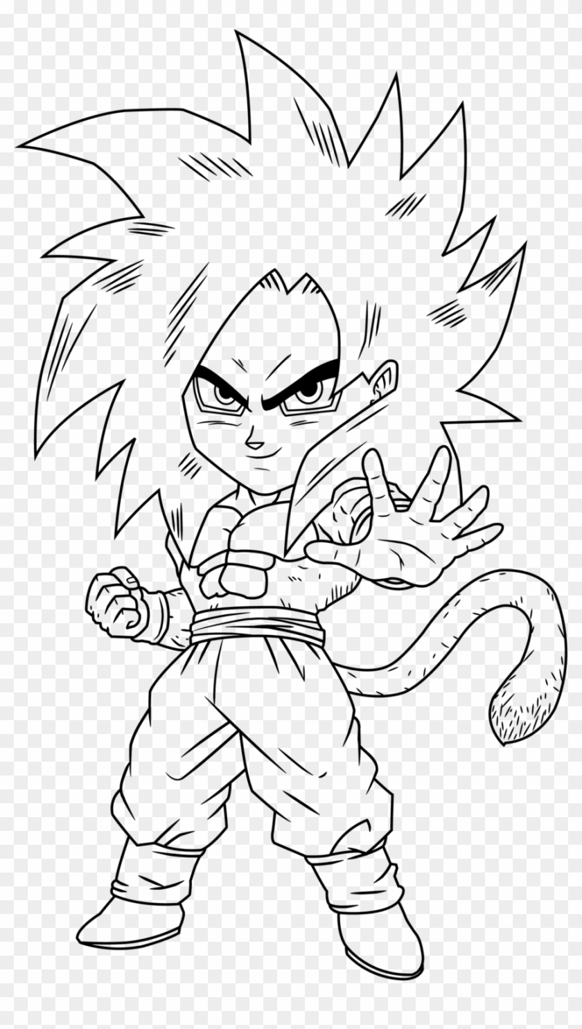Ssj4 Gogeta Coloring Pages Coloring Home - Ssj4 Goku Drawings Chibi ...