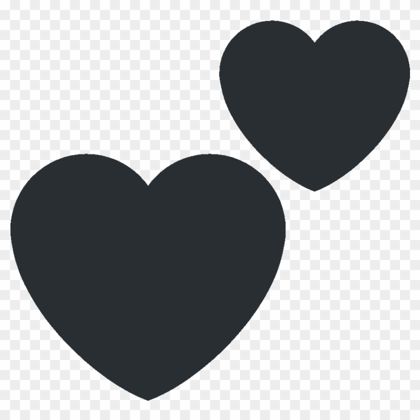 Twitter Heart Emoji Transparent, HD Png Download - 864x864