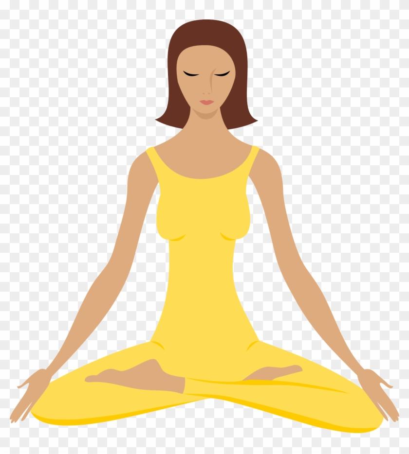 Yoga Png Clip Art Meditation Transparent Png 676x720 2093039 Pngfind