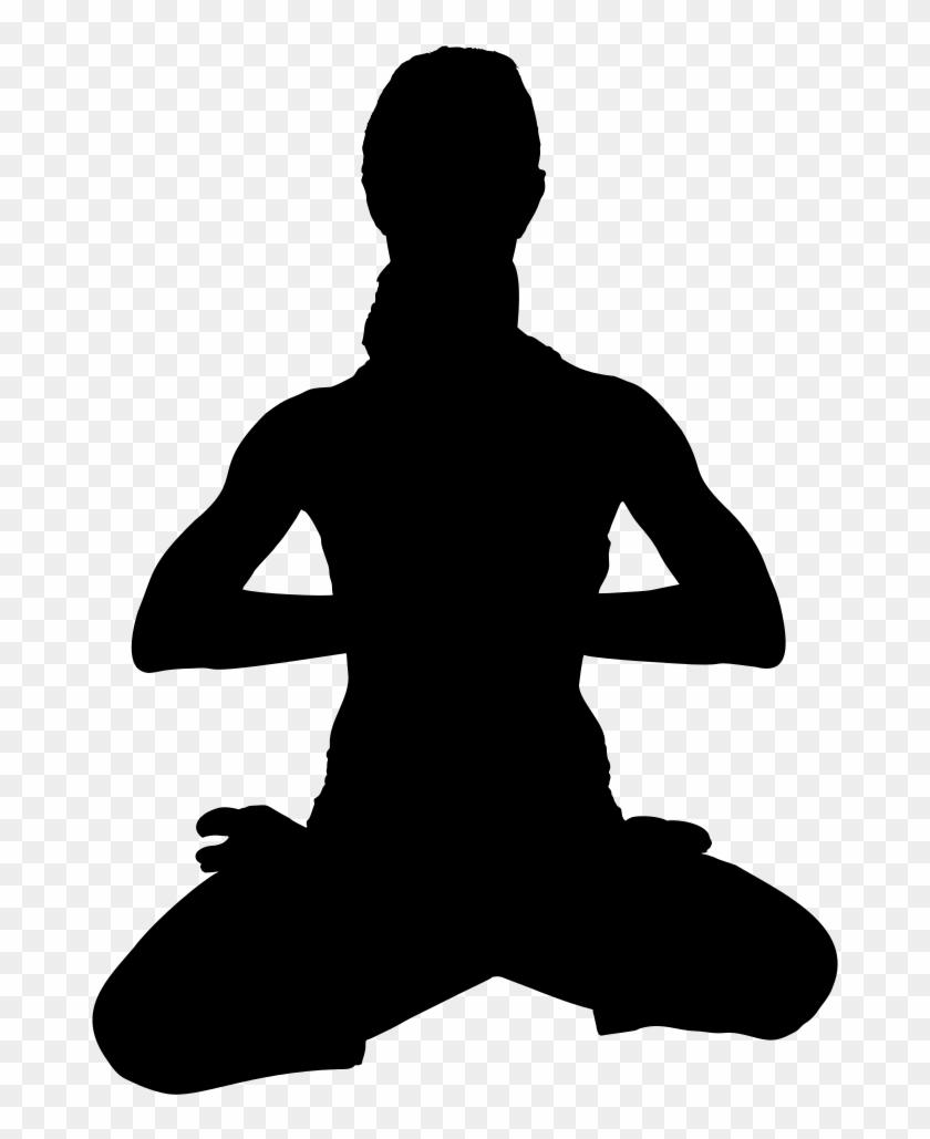Yoga Clipart Yoga Posture Silhouette Yoga Postures Png Transparent Png 710x1000 2093301 Pngfind