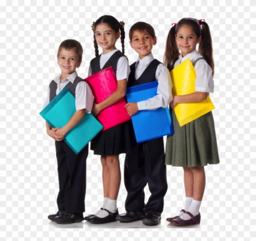 Children Student Png Photo - Children In School Uniforms