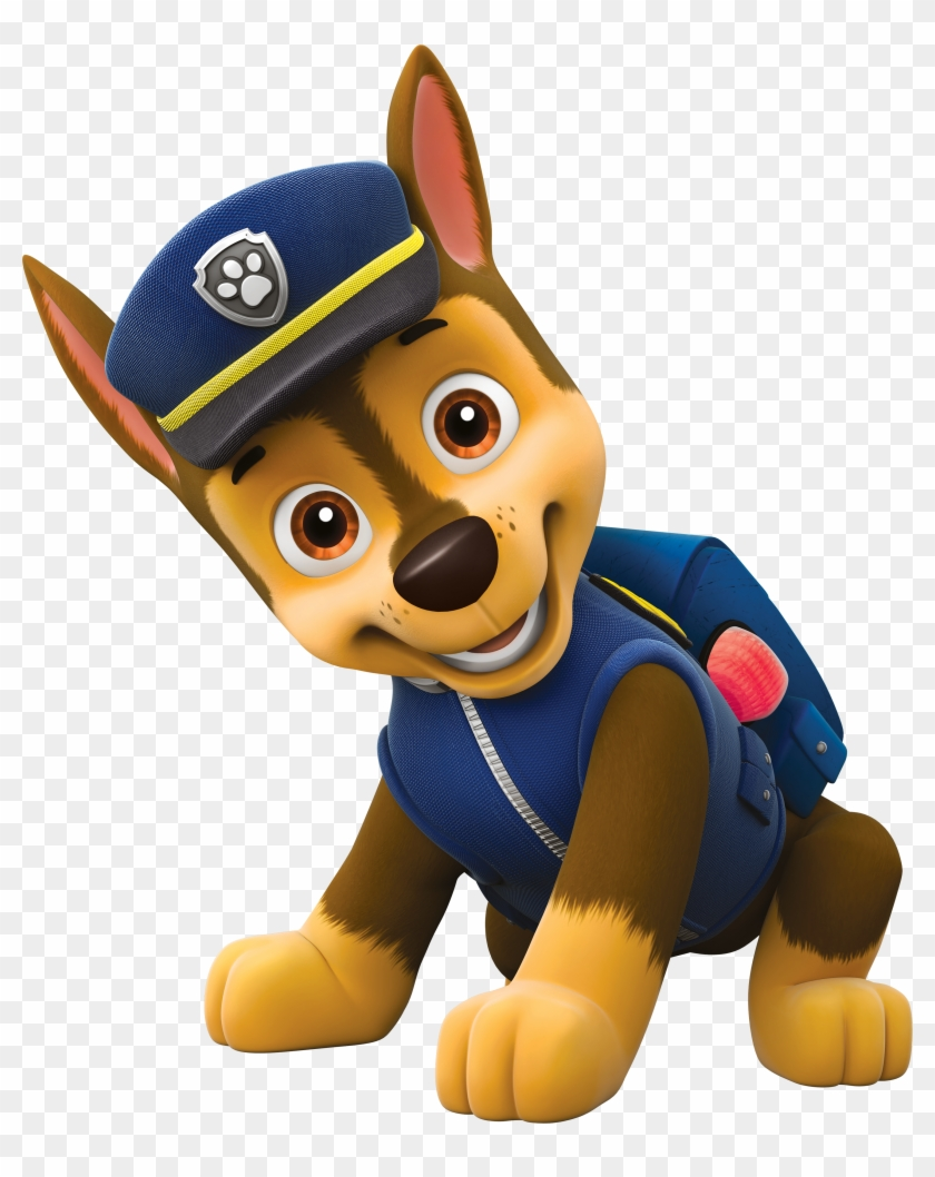 Paw Patrol Images Chase, The German Shepherd Hd Wallpaper - Paw Patrol Chase Png,