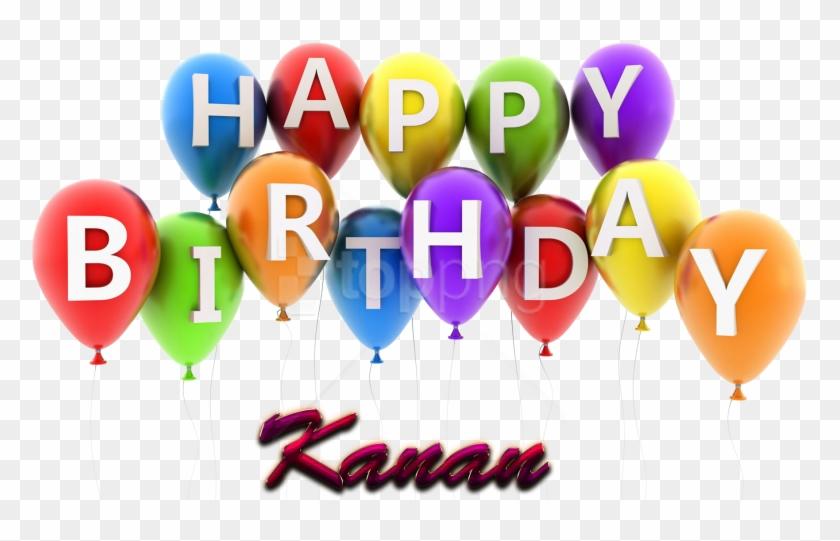Free Png Kanan Happy Birthday Vector Cake Name Png - Birthday Cake