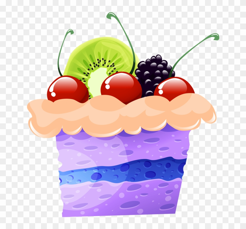 Craft Images, Yandex Disk, Cupcake, Clip Art, Crack - Fruit Cake