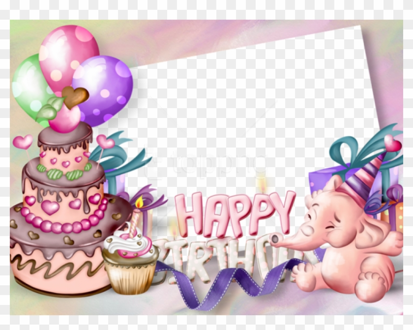 Free Png Happy Birthday Transparent Frame Background - Khung Ảnh