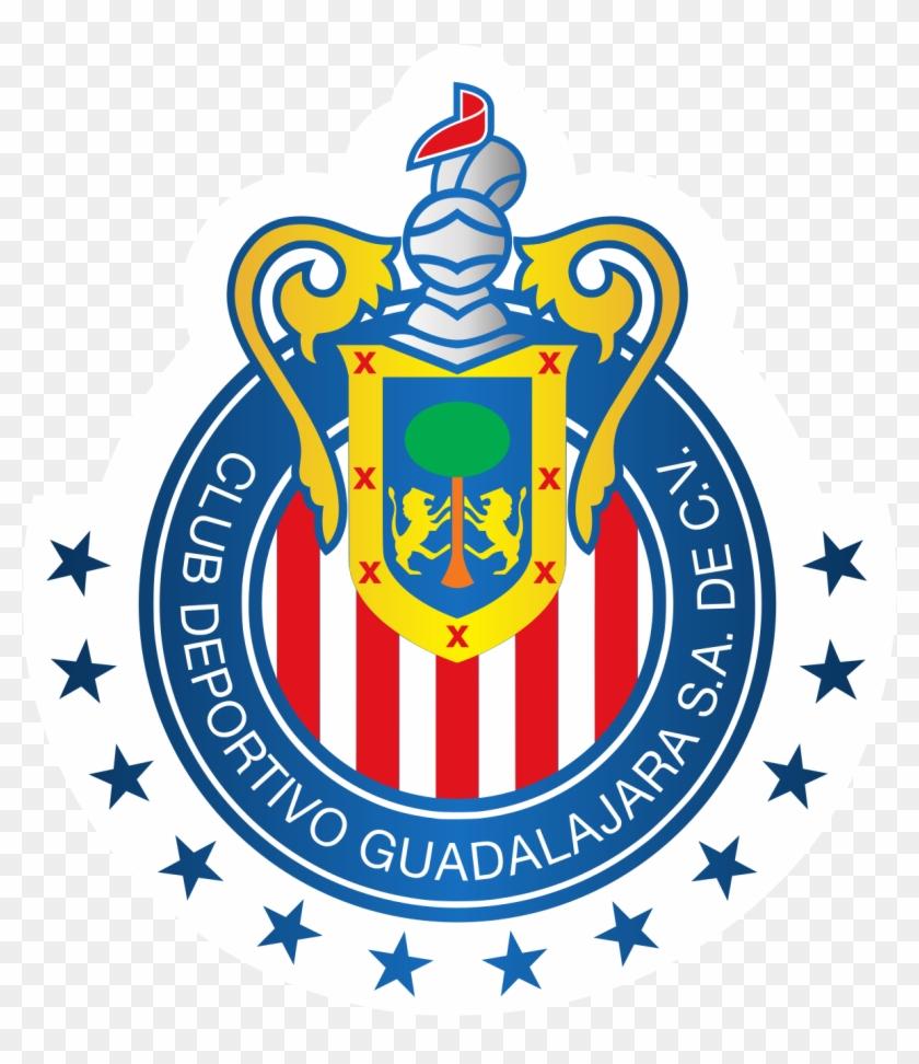 571e625307f Cd Guadalajara Wikipedia - Chivas Logo Dream League Soccer 2018, HD Png  Download