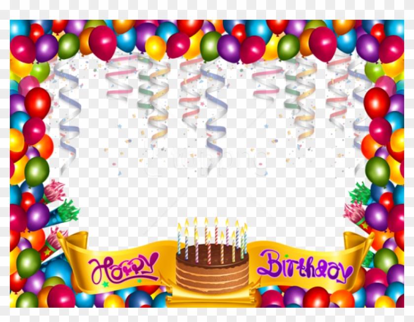 Free Png Cute Happy Birthday Frame Background Best - Happy Birthday