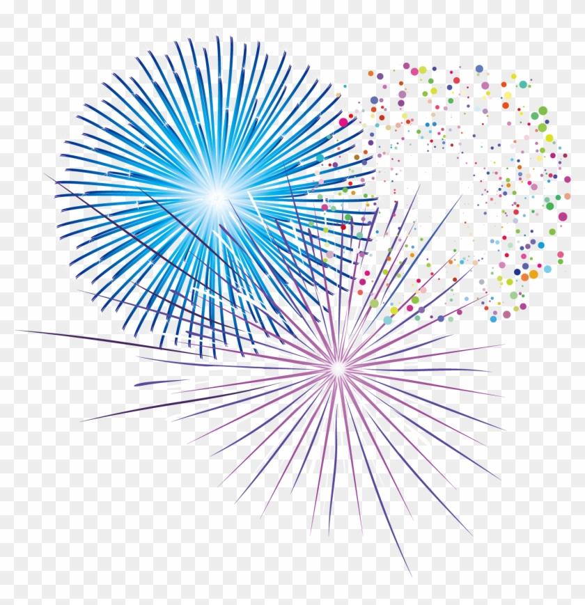 Firework Vector Colorful Vector Fuegos Pirotecnicos Fuegos