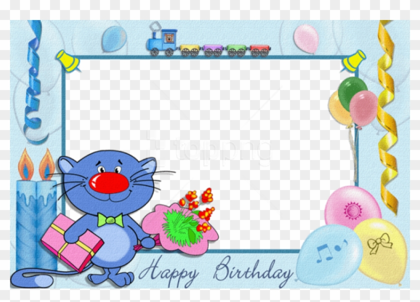 Free Png Happy Birthday Kids Transparent Frame Background Happy