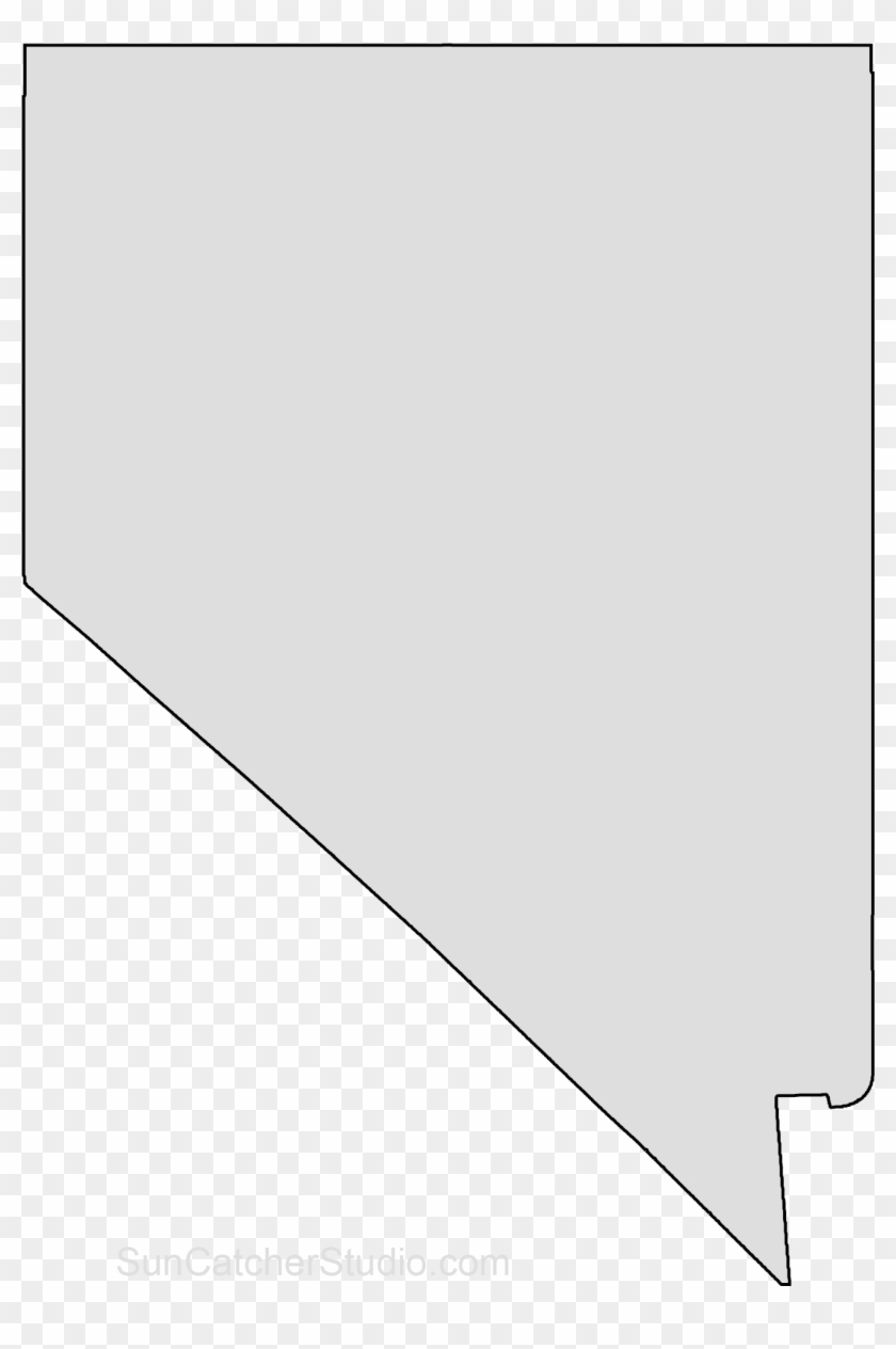 Map Outline State Outline Nevada Map Stencil Patterns Nevada State Shape Free Hd Png Download 1452x2000 2131620 Pngfind
