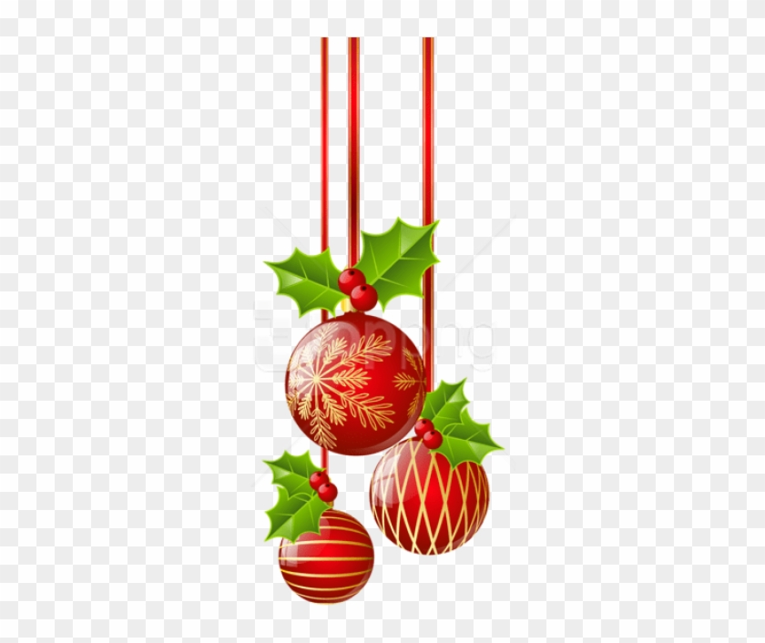 Png Christmas Decorations.Free Png Transparent Christmas Red Ornaments Png Christmas