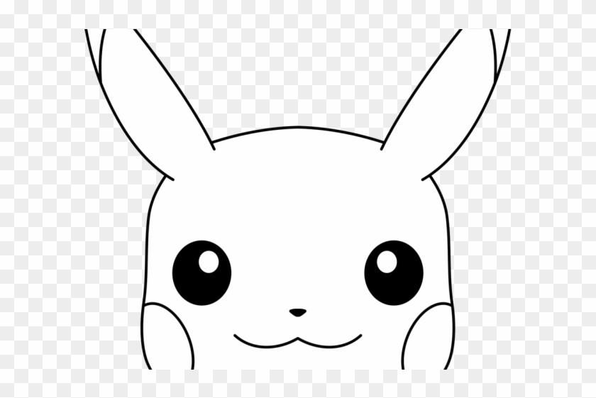 Pikachu white. Clipart black and hd