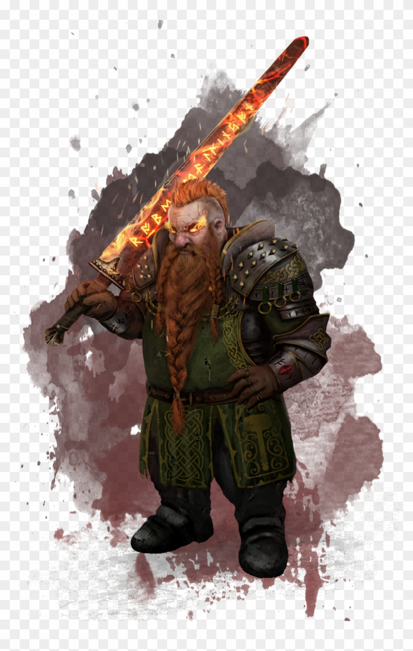 Encali Dwarves Have A General Distrust Of Anyone Who - Dwarf Cleric