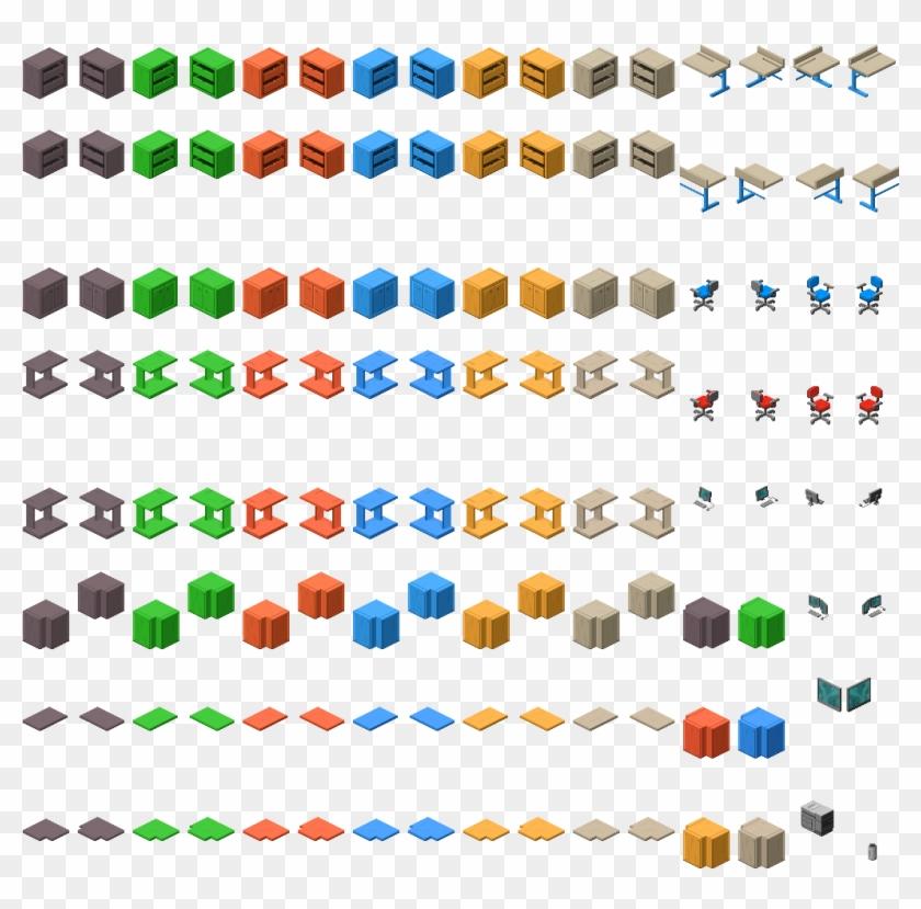 64 X 128 Isometric Sofa Isometric Pixel Art Hd Png Download 1024x1024 2166065 Pngfind