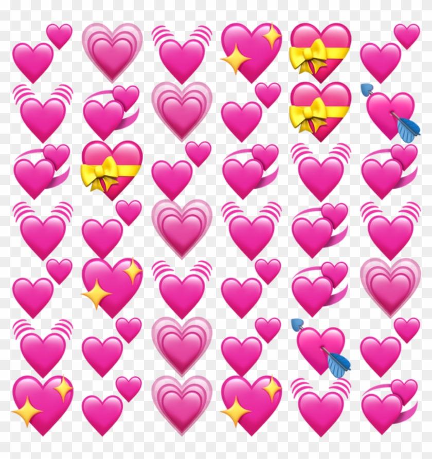 Freetoedit Edit Emoji Apple Ios Iphone Heart Spre Png - Heart Emoji