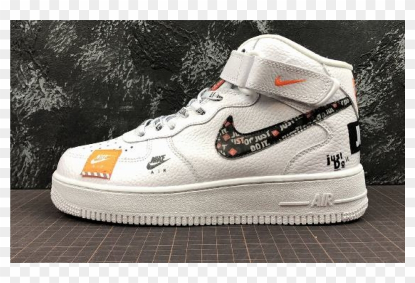 Nike Air Force 1 Mid Retro Just Do It, HD Png Download