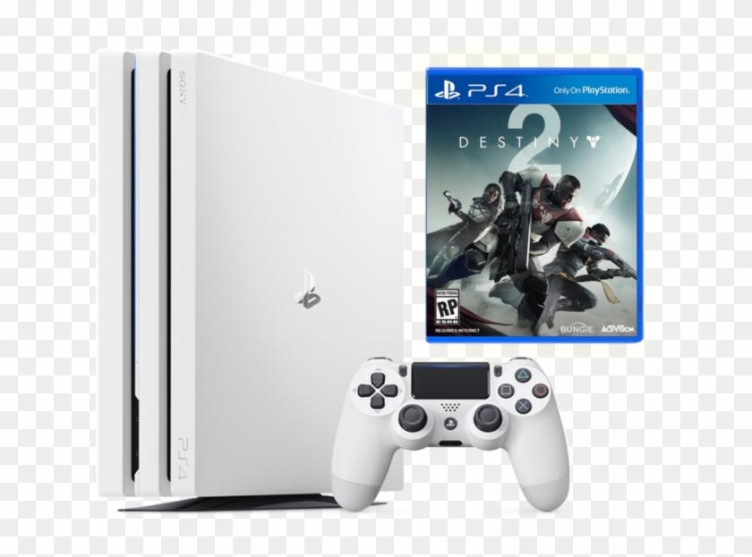 Sony Playstation 4 Pro Limited Edition Destiny 2 Bundle, HD Png