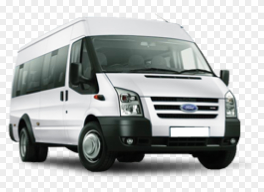 Ford Transit - 8 Posti - 12 Seater Minibus Hire, HD Png