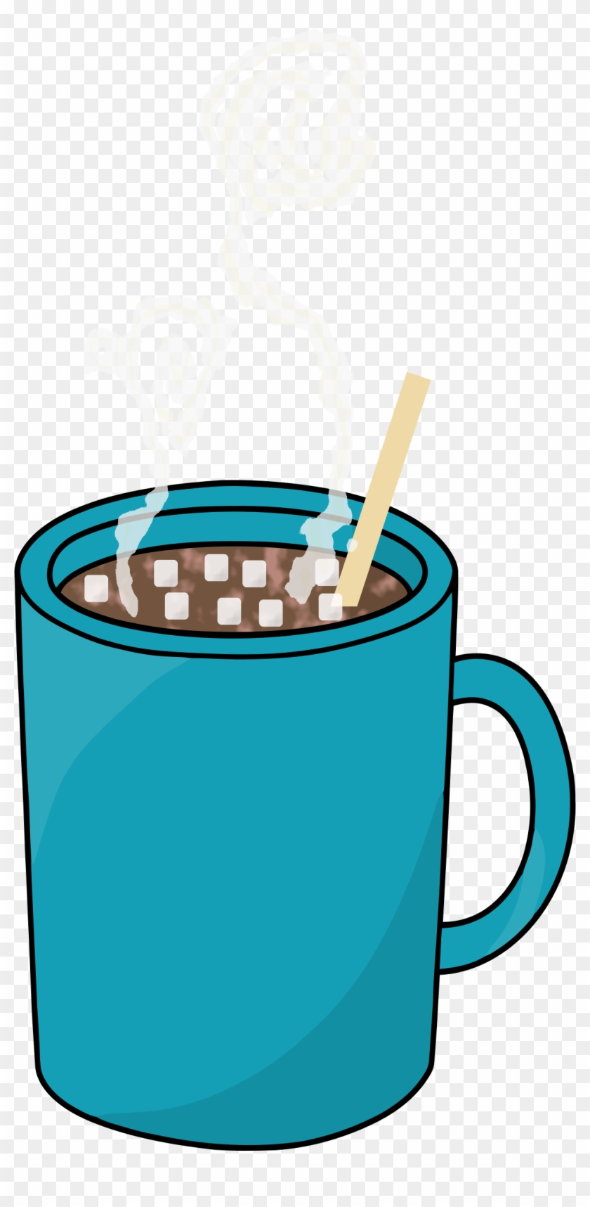 Clip Art Hot Chocolate with Marshmallows