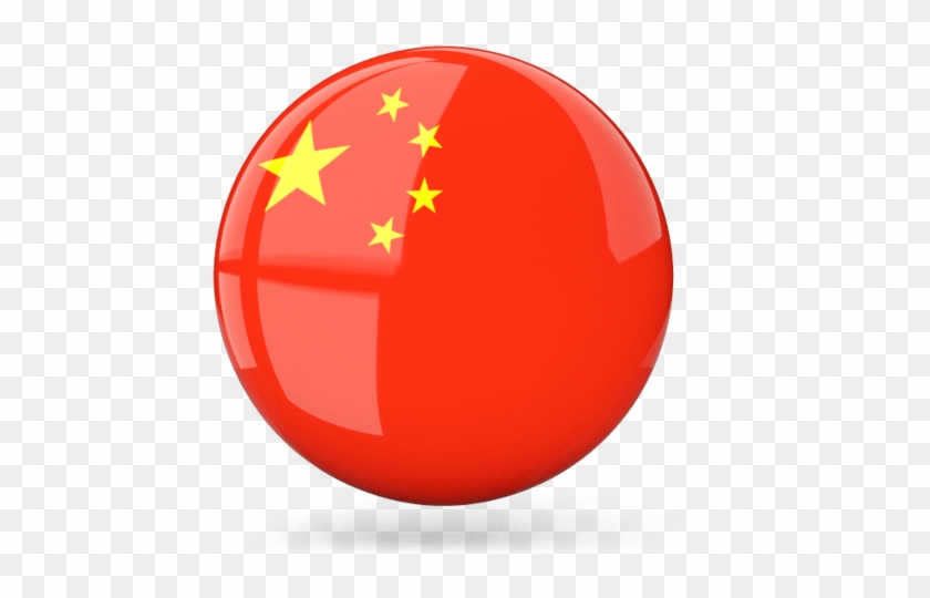 Icon China Flag - China Flag Round Icon, HD Png Download